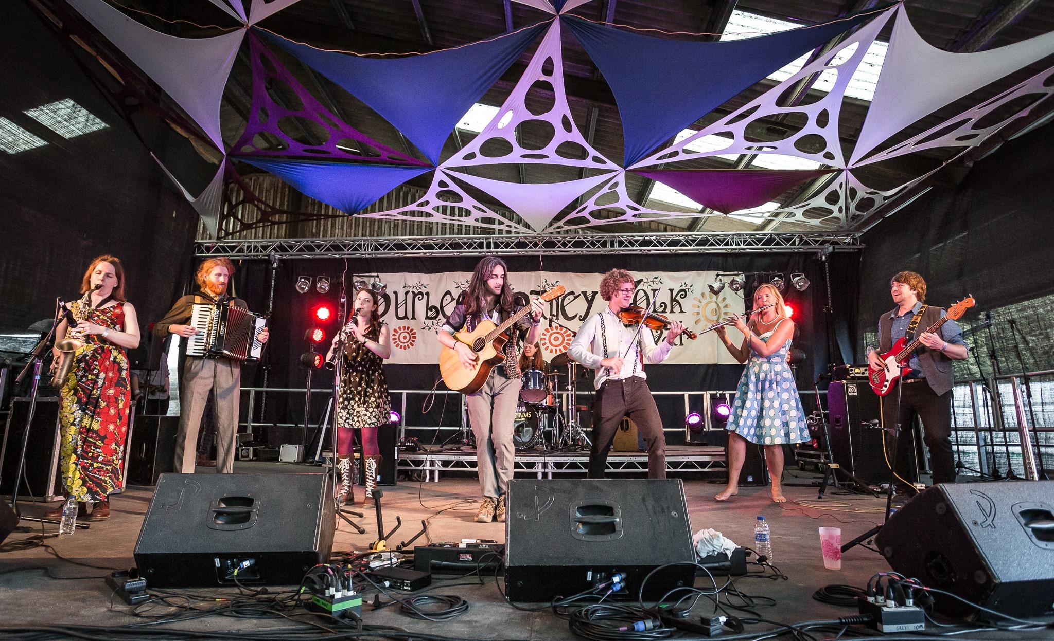 Threepenny Bit Purbeck Valley Folk Festival